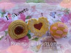 Sweet+Scented+Jelly+Filled+clay+Round+and+heart+by+RummageAddict,+$9.75