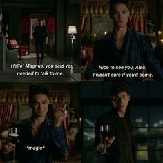 Season 1 Episode 12: Alec and Magnus