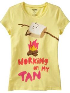 So cute and funny perfect for summer and its a scratch and sniff shirt :)