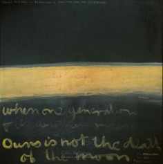 For Matiu: Muriwai, 1969 - Colin McCahon Modern Art, Contemporary Art, New Zealand Art, Nz Art, Venice Biennale, Modern Masters, Visual Identity, Colours, Indigo