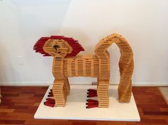 Use your imagination to build your favorite KAPLA animal. #gifts #children #school #grandparents