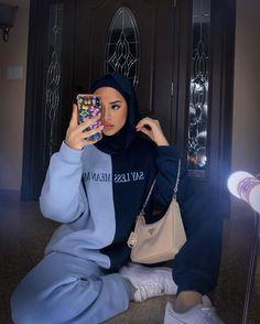 Modest Fashion Hijab, Modern Hijab Fashion, Street Hijab Fashion, Modesty Fashion, Hijab Fashion Inspiration, Muslim Fashion, Fashion Outfits, Hajib Fashion, Hijab Casual