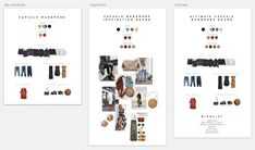 How to find your own style: Make a capsule wardrobe visual board