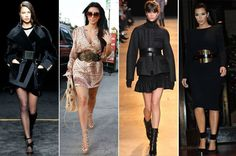 Of late, a lot of celebs have been rocking the oversized belt look. With the Paris fashion week, the belts were also aplenty on the runway. Diane Kruger, Jessica Biel, Emilio Pucci, Kardashian, Fashion Photo, Paris Fashion, Hipster, Outfit Trends, Fashion Belts