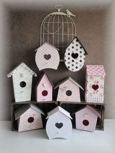 Resultado de imagem para cartonnage house bird