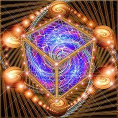 Geometría Sagrada  El Hexaedro conexión con la vida y la tierra