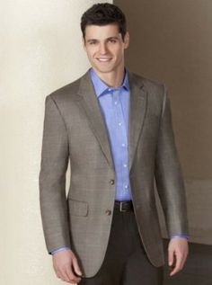 Executive 2-Button Silk/Wool Windowpane Sportcoat from Jos. A. Bank.  An impeccable look in a classic windowpane pattern that's professional for day and polished for more dressy occasions. Silk-rich fabric has a smooth finish and soft hand to drape exceptionally well.  Get your rebate from RebateGiant.
