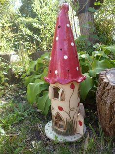 Windlicht - Elfentraum von KeramikSchneider auf DaWanda.com