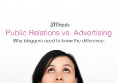 PR Vs. Advertising: Do you know the difference? Get the details you need to ultimately make money from your blog.