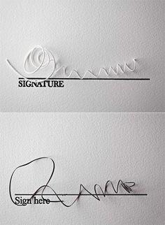 Signature art