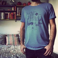 """Rapide"" Tee-shirt - Cycles Fumant"