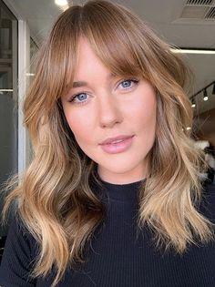 Medium Hair Styles, Short Hair Styles, New Hair Trends, Ginger Hair, Hair Day, Pretty Hairstyles, Fringe Hairstyles, Hair Looks, Hair Lengths