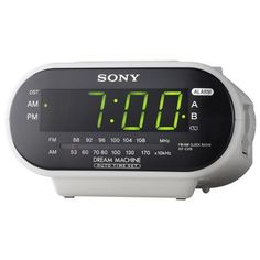 Usually ships in 1-2 business days. Alarm clock is fully functional Features: •Motion activated and scheduled recording •Motion Detection Area Masking •Time and date stamp •Remote Control operation •M