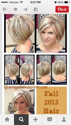 Or this hair style and low lights.