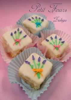 Lavender Petit Fours