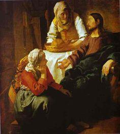 Jan Vermeer, master of light