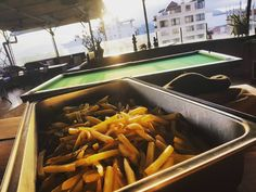 Caption: Belgium Fries @havanhotel The best in Nha Trang! Why? Cut by hand (and with love) by #lecheffabien.  Small fries basket: 60.000 vnd. Large fries basket: 90.000 vnd.  Questions reservation and special requests. Arnaud 84 165 624 4773 www.havanhotel.com  About The Rooftop Lounge:  The Rooftop Lounge is Nha Trang's oldest and favorite foreign managed bar - lounge - rooftop; a liberal institution pioneering since 2007.  Our multicultural clientele will find smart fast & polite…
