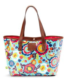 Look what I found on #zulily! Floral Fantasy Charisma Tote by Lily Bloom #zulilyfinds