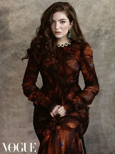 First look: Lorde for Vogue Australia July 2015: On sale Monday June 15.