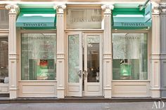 Tiffany & Co. Opens a New Boutique in SoHo : Architectural Digest. This store does a great job of fitting in with the SoHo vibe. Door handles by M. Cohen and Sons