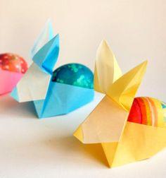 Origami húsvéti tojástartó nyuszik / Mindy - kreatív ötletek és dekorációk minden napra