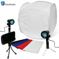 "LimoStudio Table Top Portable Photo Studio Lighting with 17"" Studio Light Tent Kit, AGG1075 LimoStudio,http://www.amazon.com/dp/B00DP65844/ref=cm_sw_r_pi_dp_J-Xitb196QFDM4E9"