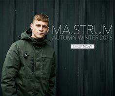 302e1ffa4813a Online now the highly anticipated arrival of MA.Strum AW16 ~ www. terracesmenswear.