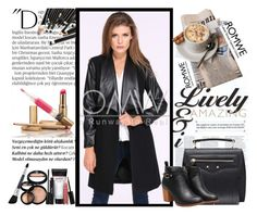 """""""2222"""" by ena-ena ❤ liked on Polyvore featuring Balmain, Laura Geller, romwe and polyvoreeditorial"""