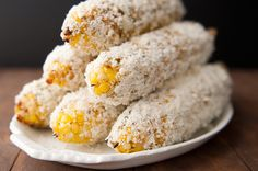 mexico city style roasted corn with chipotle mayonnaise recipe | use real butter