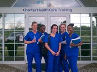 Charter Health Care Training Center offers programs to educate and train nurse aides, home health aides and pharmacy technicians, as well as other community training programs like CPR and First Aid. Certified Nurse, Pharmacy Technician, Training Center, Special Promotion, Health Care, Bridge, June, Students, Sign