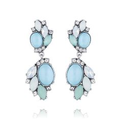 Shoreside Double Drop Post Earrings $48.00