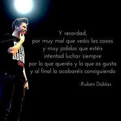 Ruben Doblas y sus frases