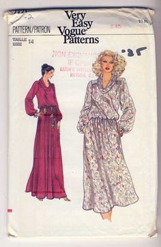Vogue 7221 Misses by Noahslady4Patterns on Etsy, $5.75
