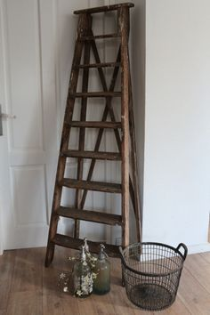 1000+ images about Ladders on Pinterest  Ladder, Old ladder and Met