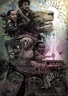 Jungle Brothers - Dan Lish