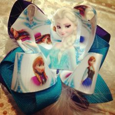 Frozen hair bow by HPA