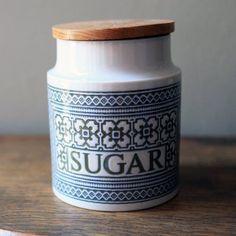 Preview image for Sugar Storage Jar - Vintage Hornsea Pottery