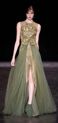 #Basil Soda Paris Fashion Week Fall Winter 2013 Haute Couture Collection