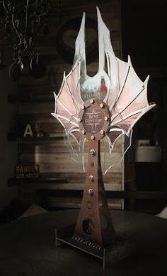 Industrial Revelations: Carnevale Awards--Custom Metal Steampunk Trophies