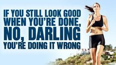 I hope this is true because God knows I never look good when I am done running :) XC 4-eva
