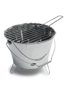 BBQ Bucket Grill: A trunk friendly, always-with-you grill for spontaneous picnicing! $24