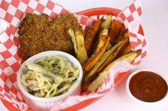 Red, White & Green Slaw or Wedges by Lisa Fontanesi