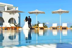 """""""At the touch of love everyone becomes a poet."""" — Plato  This #summer your dream #wedding can come true at Astro Palace Hotel & Suites! Allow our certified planners to organize every stress-free detail of your long awaited and flawless ceremony and reception!"""