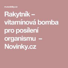 Rakytník – vitamínová bomba pro posílení organismu – Novinky.cz
