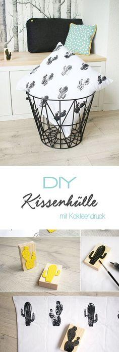 Schon Do It Yourself: Textilmuster Mit Stempeln Selbst Gestalten