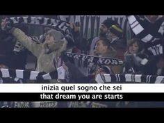 Juventus Theme Song - Storia Di Un Grande Amore - with Lyrics and Translation - YouTube