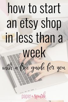 How to set up an Etsy shop in less than one week - How To Start An Online Boutique? - how to start an etsy shop in less than one week