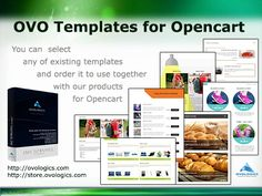 OVO Templates for Opencart You can  select any of existing templates and order it to use together with our products for Opencart #Ovologics #custom #templates #PDFcatalog #ecommerce #module #extension #Stores