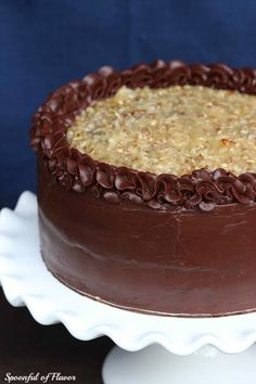 German Chocolate Cake - full recipe included