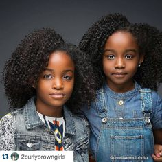 Aisha and Delilah are here to tell you never be afraid of you natural hair. Cute Black Babies, Beautiful Black Babies, Brown Babies, Black Kids, Beautiful Children, Cute Babies, Black Child, Mixed Babies, Natural Hairstyles For Kids